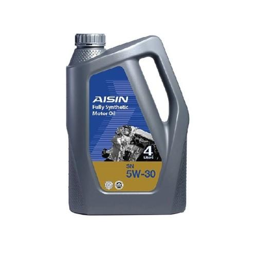 روغن موتور آیسین Aisin مدل SN حجم ۴ لیتر (5W-30)