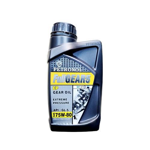 روغن گیربکس دستی پترونول GL5 حجم 1 لیتر (75w-80)