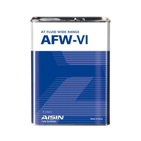 تصویر روغن گیربکس آیسین AFW-VI حجم چهار لیتر Aisin AFW-VI 4Lit